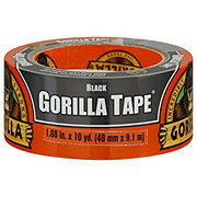 Gorilla Tape Black, Double Thick Adhesive Duct Tape
