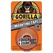 Gorilla Tough & Clear Double-Sided Mounting Tape