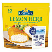 Gorton's Lemon Herb Fish Fillets