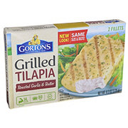 Gorton's Roasted Garlic and Butter Grilled Tilapia