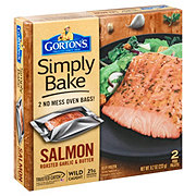 Gorton's Simply Bake Roasted Garlic and Butter Salmon