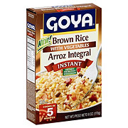 Goya Brown Rice with Vegetables