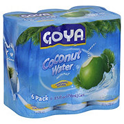 Goya Coconut Water With Pulp 6 PK