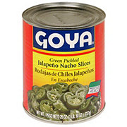 Goya Green Pickled Jalapeno Nacho Slices