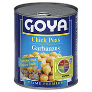 Goya Prime Premium Low Sodium Chick Peas