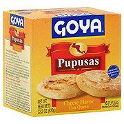 Goya Pupusa con Queso, Cheese Flavor Stuffed Corn Tortillas