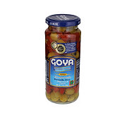 Goya Reduced Sodium Alcaparrado Manzanilla Olives Pimientos & Capers