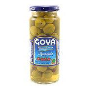 Goya Reduced Sodium Olives Stuffed With Pimiento