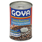 Goya Reduced Sodium Refried Black Beans