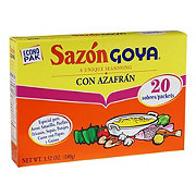 Goya Sazon Azafran Seasoning