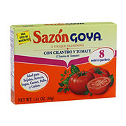 Goya Sazon Cilantro And Tomato Seasoning