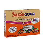 Goya Sazon Coriander And Annatto Seasoning
