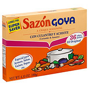 Goya Sazon Coriander & Annatto Seasoning Jumbo Pak