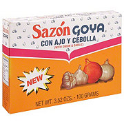 Goya Sazon Seasoning Mix with Onion & Garlic