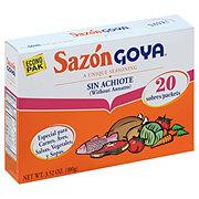 Goya Sazon  Seasoning Without Annatto Econo Pak