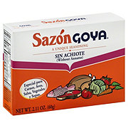 Goya Sazon Without Annatto Seasoning Family Size