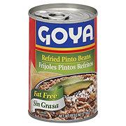 Goya Sin Grasa Frijoles Pintos Refritos (Fat Free Refried Pinto Beans)