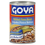 Goya Sodio Reducido Frijoles Pintos Refritos (Reduced Sodium Refried Pinto Beans)