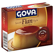Goya Spanish Style Flan with Caramel Custard