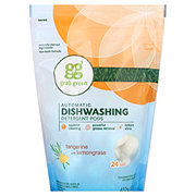 Grab Green Tangerine Lemongrass Dishwash Detergent