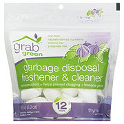 Grab Green Thyme Fig Leaf Garbage Disposal Cleaner