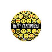 Graduation Emoji Happy Grad Foil Balloon