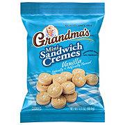 Grandma's Mini Vanilla Creme Sandwich Cookies