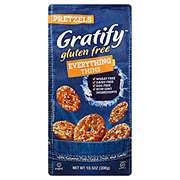 Gratify Gluten Free Everything Pretzel Thins