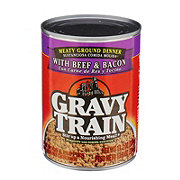 Gravy Train Beef and Bacon Dog And Puppy Food