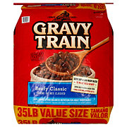 Gravy Train Beef Flavor Dog Food