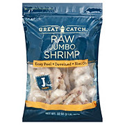 Great Catch Raw Jumbo Easy Peel Shrimp, 16/25 ct