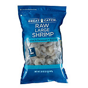 Great Catch Raw Peeled & Deveined Tail-Off Shrimp