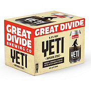 Great Divide Yeti Imperial Stout Beer 12 oz  Cans