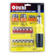 Great Neck 34 Piece Ratcheting Screwdriver Set