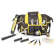 Great Neck Essentials Around the House Tool Kit 31 PC in Black Bag