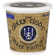 Greek Gods Greek Style Traditional Honey Flavored Yogurt