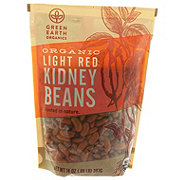 Green Earth Organics Organic Light Red Kidney Beans