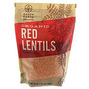 Green Earth Organics Organic Red Lentils