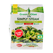 Green Giant Simply Steam Broccoli & Cheese Sauce Family Size