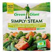 Green Giant Simply Steam Roasted Red Potatoes Green Beans & Rosemary Butter Sauce