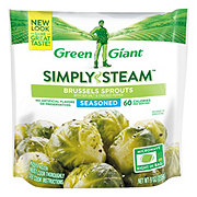 Green Giant Simply Steam Seasoned Brussels Sprouts