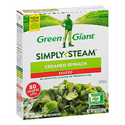 Green Giant Steamers Creamed Spinach