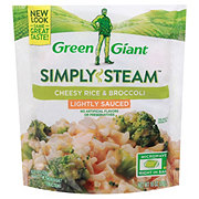 Green Giant Valley Fresh Steamers Cheesy Rice and Broccoli