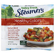 Green Giant Valley Fresh Steamers Healthy Colors Market Vegetable Blend