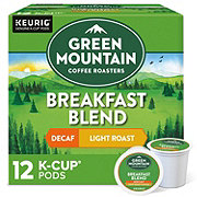 Green Mountain Coffee Breakfast Blend Decaf Light Roast Single Serve Coffee K Cups