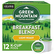 Green Mountain Coffee Breakfast Blend Light Roast Single Serve Coffee K-Cups