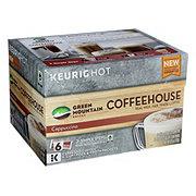 Green Mountain Coffee Coffeehouse Cappuccino Espresso K-cups