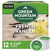 Green Mountain Coffee French Vanilla Flavored Light Roast Single Serve Coffee K-Cups
