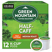 Green Mountain Coffee Half-Caff Medium Roast Single Serve Coffee K Cups