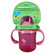 GREEN SPROUTS Non Spill Sippy Cup Pink